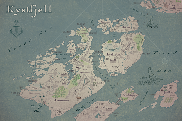 Kystfjell Map full (unfinished)